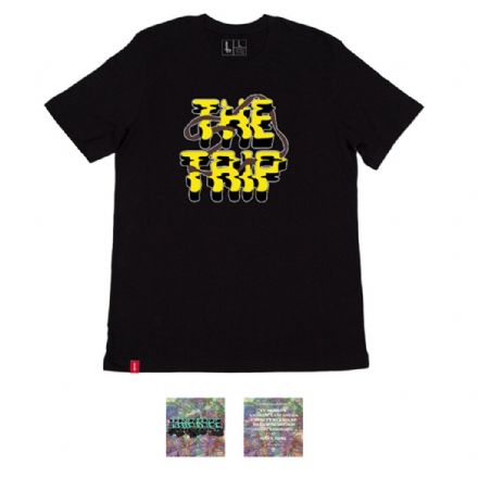 The Trip Triptape DVD / T-Shirt - Black XL
